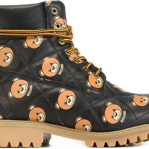 Moschino Teddy Bear Boots